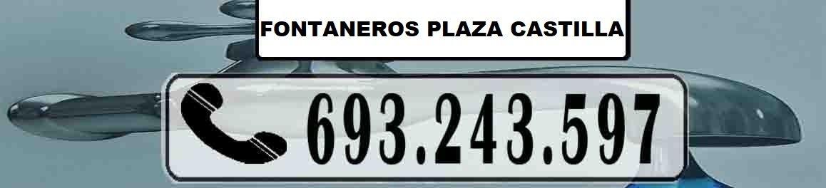 Fontaneros Plaza Castilla Madrid Urgentes