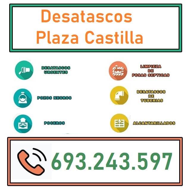 Desatascos Plaza Castilla